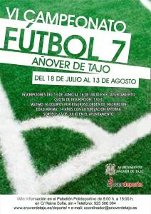VI Campeonato de Fútbol 7 en Añover de Tajo
