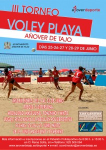 III Torneo Voley Playa en Añover de Tajo