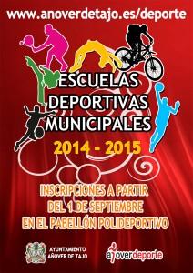 Escuelas Deportivas Municipales 2014-2015