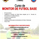 Cartel Curso Monitor Futbol Base 2015