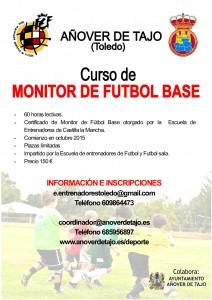 Cartel Curso Monitor Futbol Base 2015