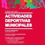 Cartel Escuelas Deportivas 2016-2017
