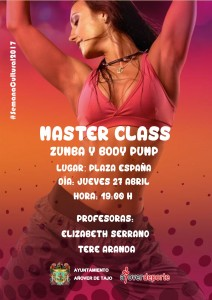 Masterclass zumba-bodypump 2017