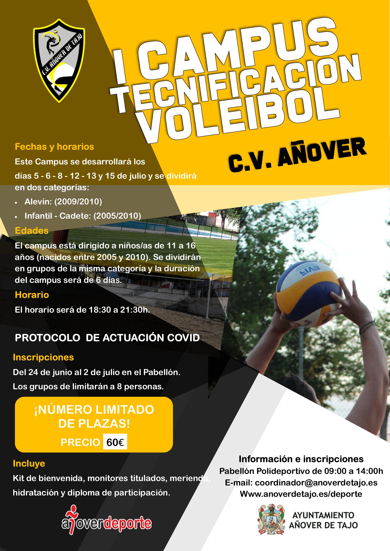 I Campus Tecnificación Voleibol
