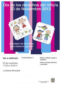 Cartel Día de los Derechos de los Niños/as 2013
