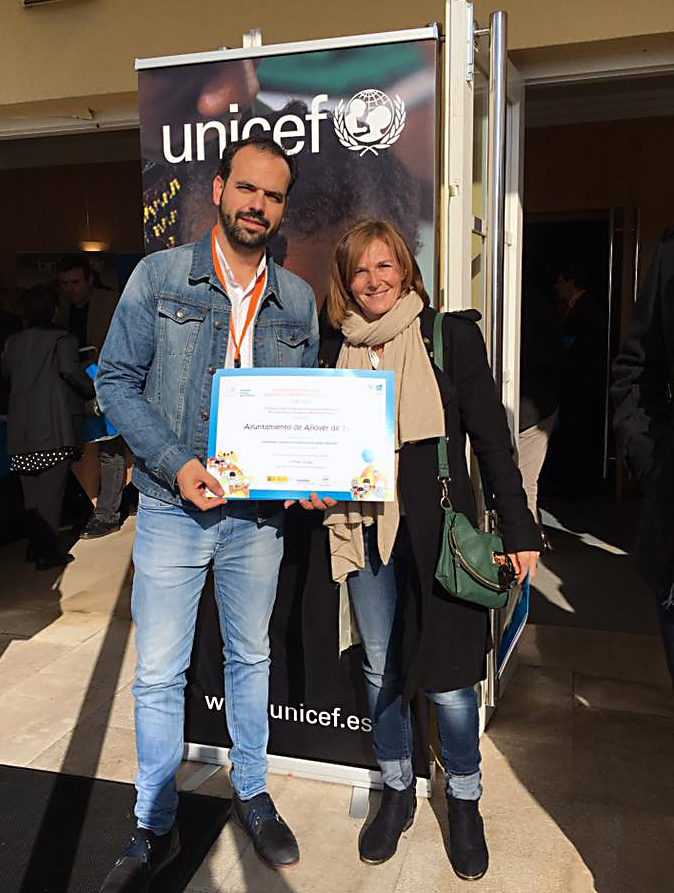 Reconocimiento de Unicef