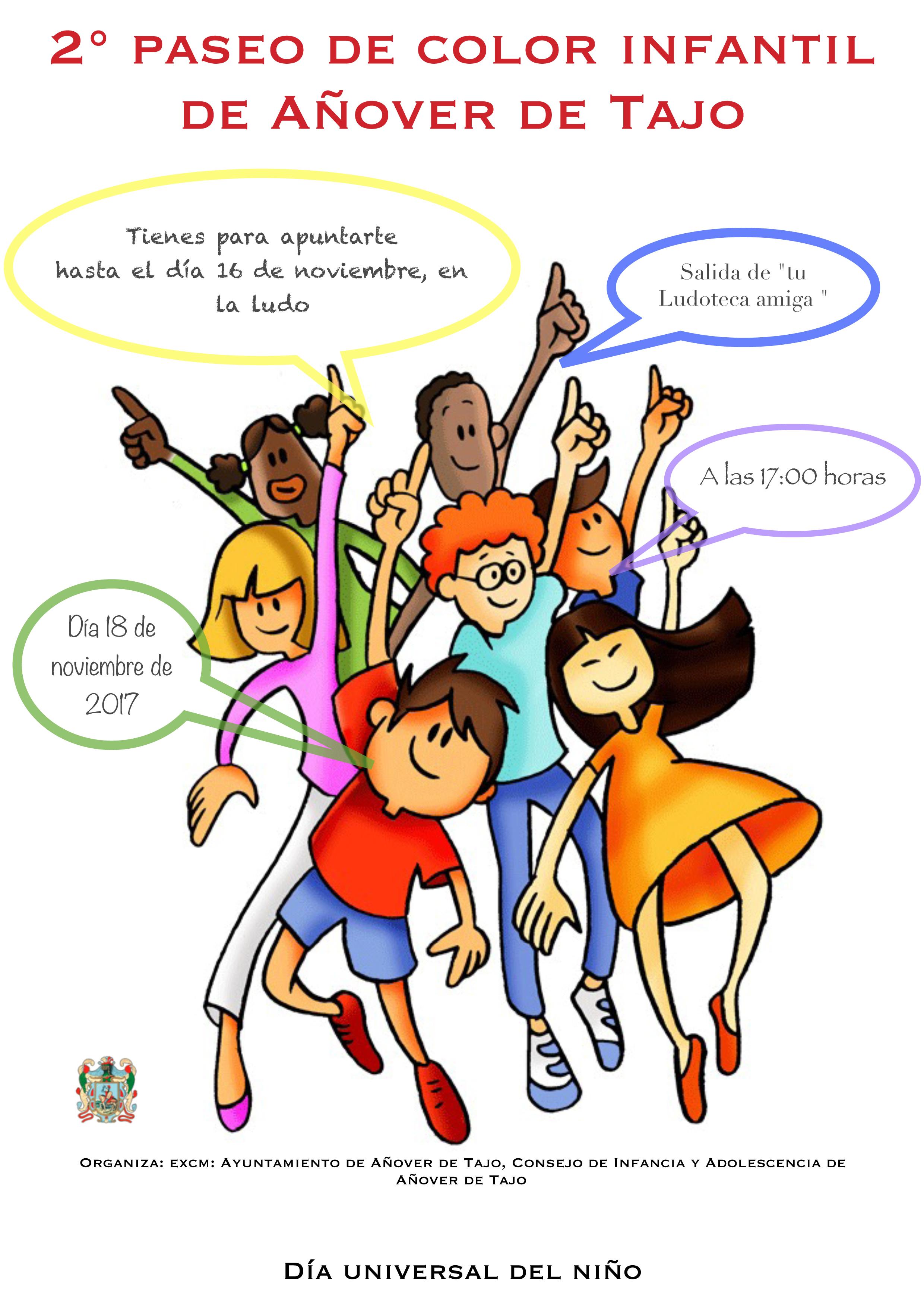 Día Universal del Niño a todo color