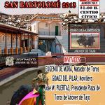 Cartel Presentación Feria Taurina 2013