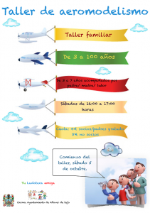 Taller de Aeromodelismo en Tu Ludoteca Amiga
