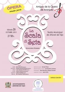 Ópera La Scala di Seta con motivo de la conmemoración de 25 Años de Biblioteca Pública