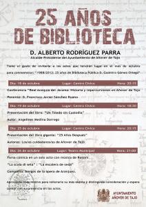 """1988/2013: 25 Años de Biblioteca Pública D. Casimiro Gómez Ortega"""
