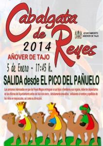 Cabalgata de Reyes Magos 2014 en Añover de Tajo.