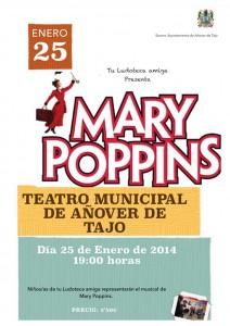 Tu Ludoteca Amiga presenta el musical de 'Mary Poppins'