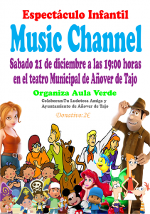 Espectáculo Infantil 'Music Channel'