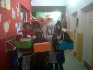 Fiesta de Navidad en la Escuela Infantil 'Puliditos'