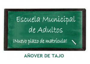 Escuela Municipal de Adultos ¡Nuevo plazo de matrícula Curso 2014-2015!