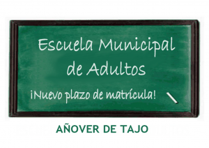 Escuela Municipal de Adultos ¡del 1 al 11 de diciembre!