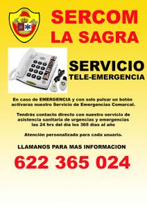 Servicio Telemergenica SERCOM La Sagra