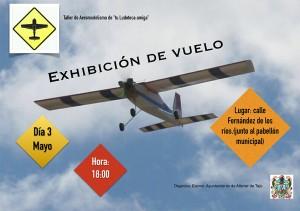 Exhibición de Aeromodelismo - Semana Cultural 2014