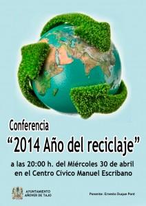 Conferencia '2014 Año del reciclaje' - Semana Cultural 2014