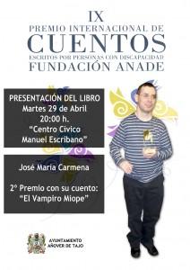 José María Carmena, ganador del Segundo premio del concurso.