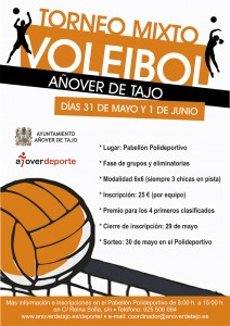 II Torneo Voleibol Mixto en Añover de Tajo.