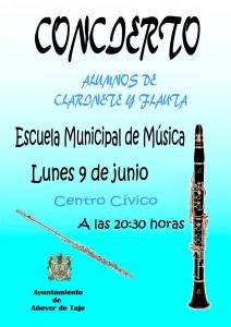 Audición alumn@s de Clarinete y Flauta.