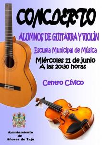 Audición de alumn@s de Guitarra y Violín