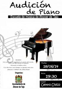 Audición de Piano de la Escuela Municipal de Música
