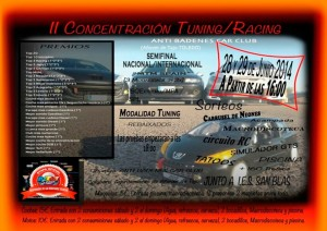 II Concentración Tuning/Racing Anti Badenes Car Club en Añover de Tajo