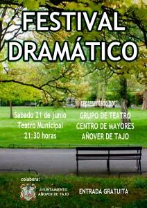 El grupo de teatro del Centro de Mayores presenta el 'Festival Dramático'