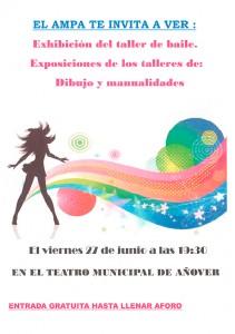 Exhibición y exposiciones del AMPA.