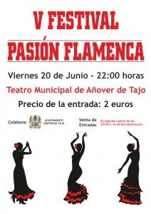 V Festival 'Pasión Flamenca' en Añover de Tajo.