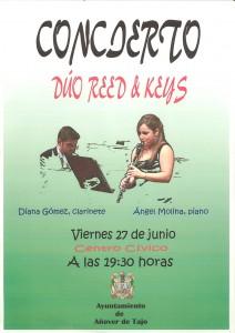 Concierto Dúo: Reed & Keys