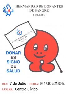 ¡Ven a donar sangre!