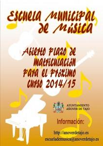 Escuela Municipal de Música Curso 2014-2015