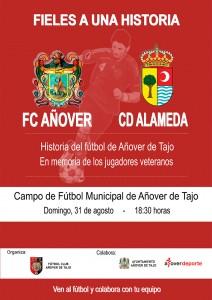 Partido Homenaje a los veteranos del F.C. Añover