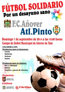 Fútbol Solidario 'Por un desayuno sano'