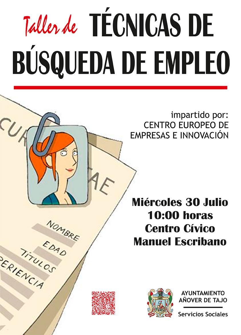 Taller de t cnicas de b squeda de empleo ayuntamiento for Busqueda de telefonos por calles