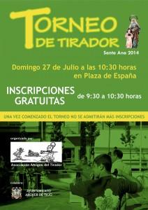 Torneo de Tirador Santa Ana 2014