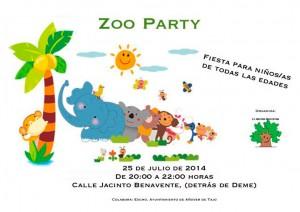 Fiesta Zoo Party organizada por la Asociación Aula Verde.