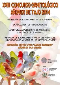 XVIII Concurso Ornitológico en Añover de Tajo.