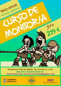 Curso de Monitor/a en Añover de Tajo - Título Oficial
