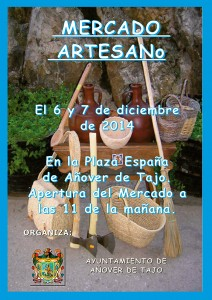 Mercado de Artesanía en Añover de Tajo.