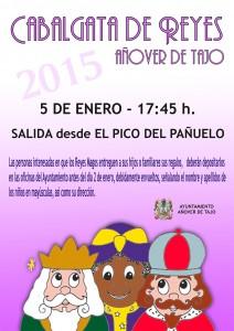 Cabalgata de Reyes Magos 2015 en Añover de Tajo.
