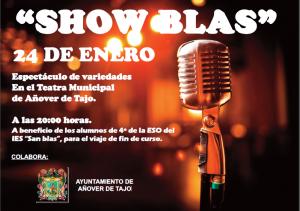 Show Blas Añover