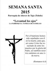 Cartel Semana Santa.