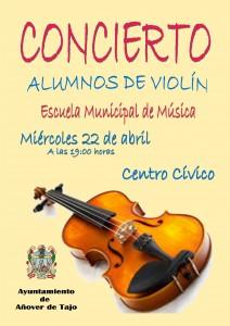 Concierto alumnos de violín.