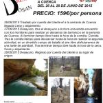 Viaje multiaventura a Cuenca
