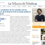 15 de abril. restos guerra civil. la tribuna